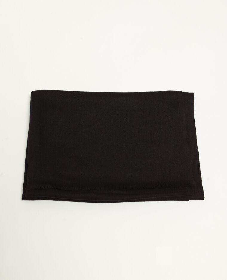 Stola nera nero