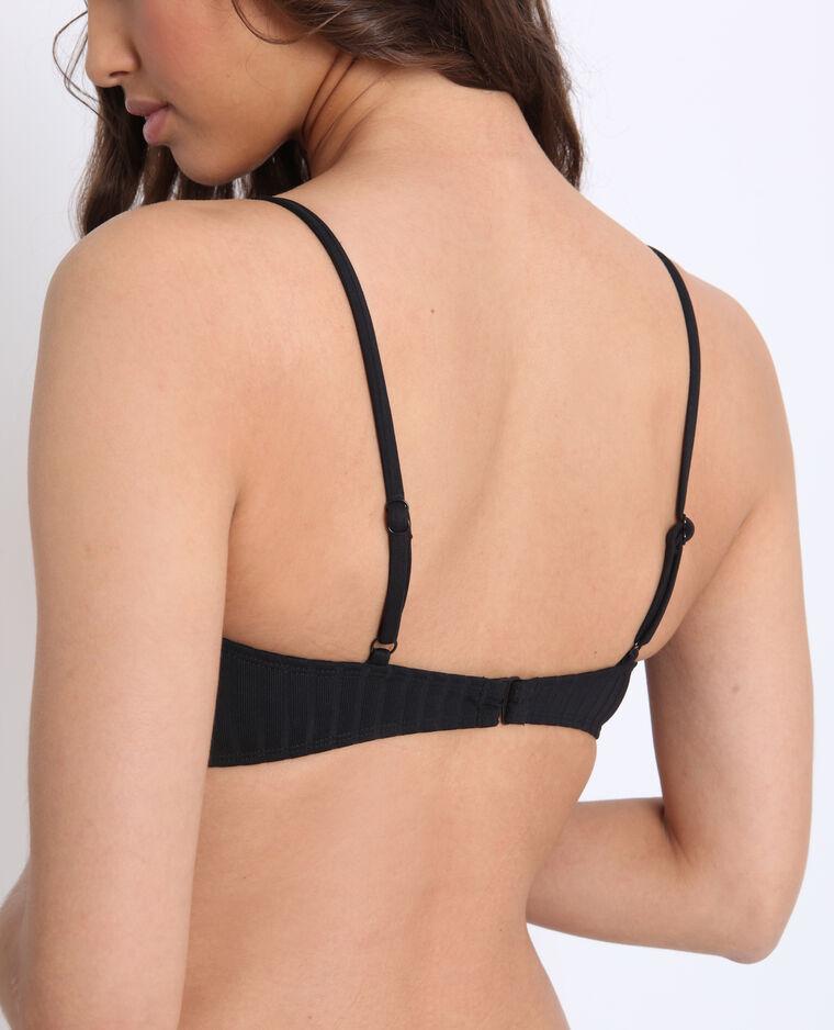 Bikini a fascia nero