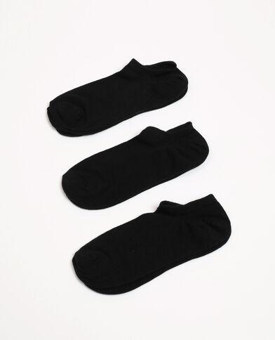 Lotto di calzini bassi nero