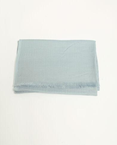 Stola blu ghiaccio blu