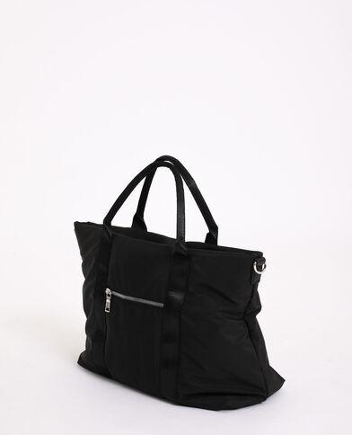 Grande borsa morbida nero