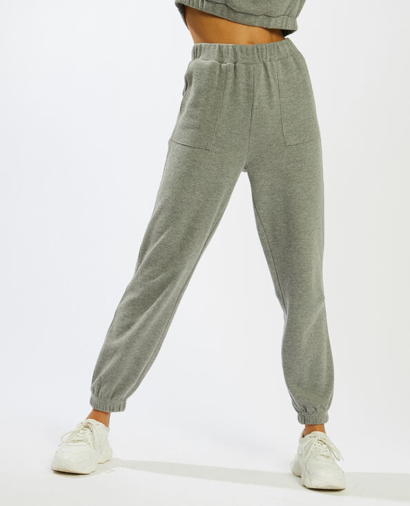 Pantalone da jogging grigio - Pimkie