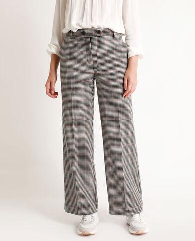 Pantalone con gambe larghe marrone