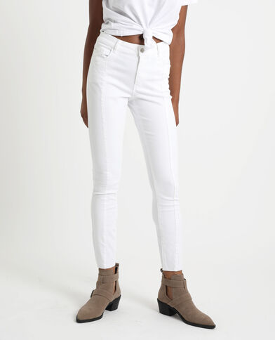 Pantalone skinny bianco