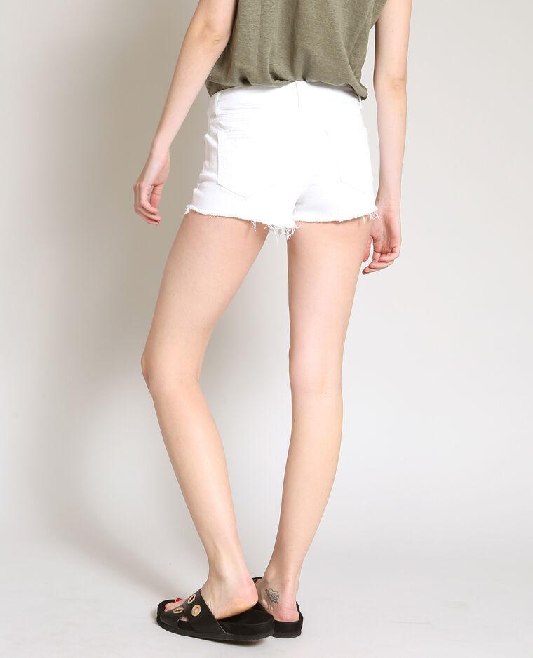 Short corto bianco
