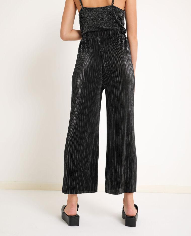 Pantalone a gamba larga nero