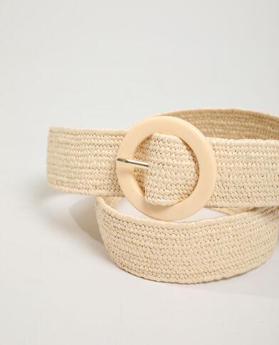 Cintura intrecciata beige - Pimkie