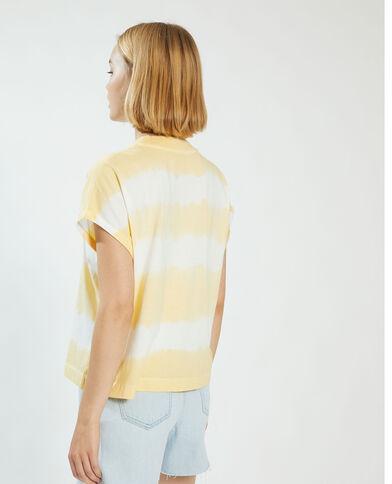 T-shirt tie and dye giallo - Pimkie