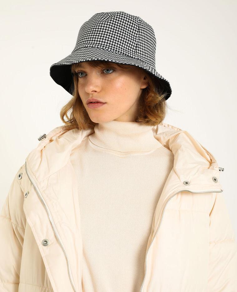 Cappello bob in tessuto nero - Pimkie