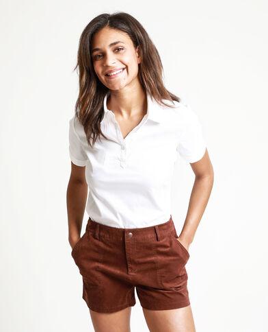 Camicia maniche corte bianco