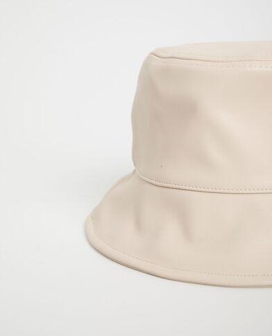 Cappello bob in similpelle beige corda - Pimkie