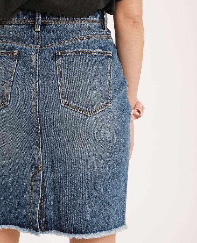 Gonna di jeans blu denim