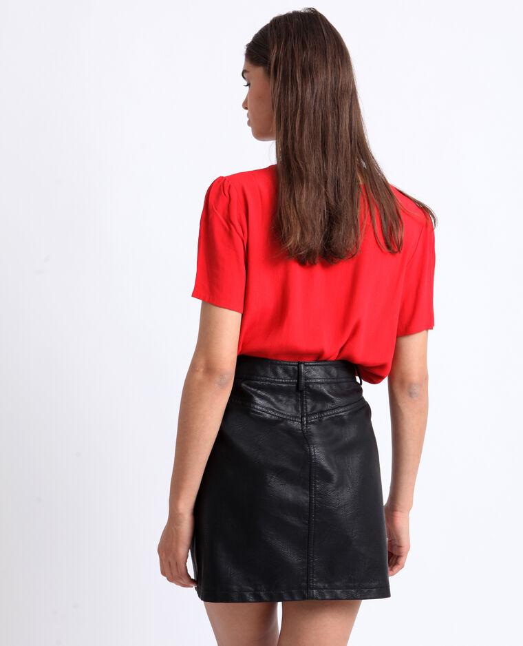Body camicia rosso