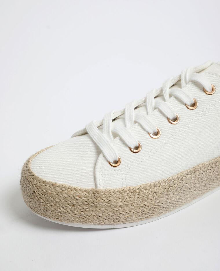 Scarpe da ginnastica con suola in corda Beige
