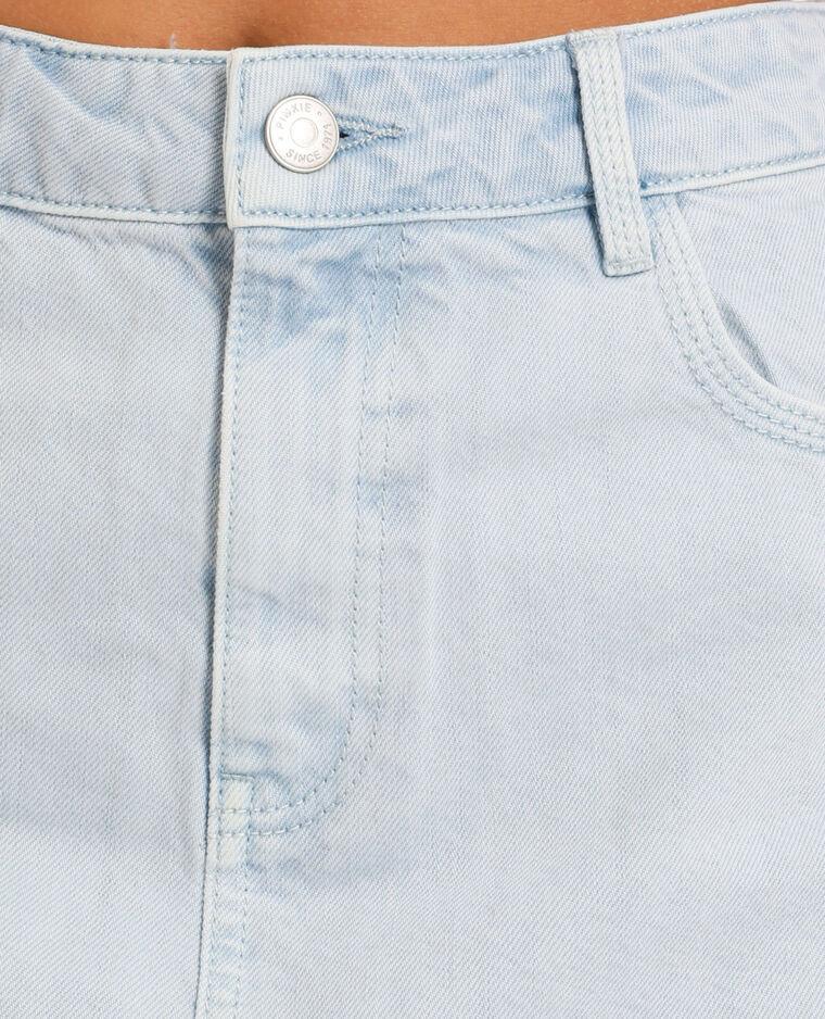 Gonna di jeans chiaro blu chiaro
