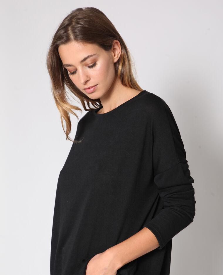 - T-shirt maniche lunghe nero