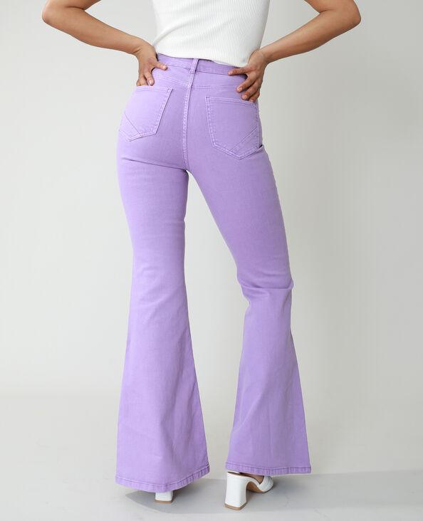 Jeans flare high waist parme - Pimkie