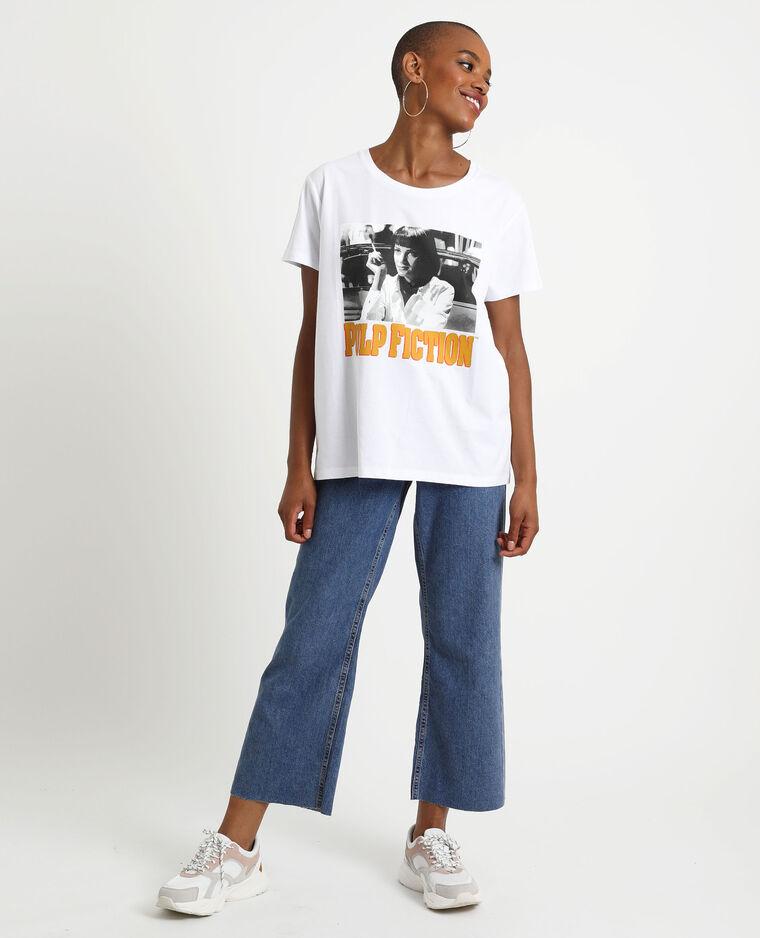 T-shirt Pulp Fiction bianco