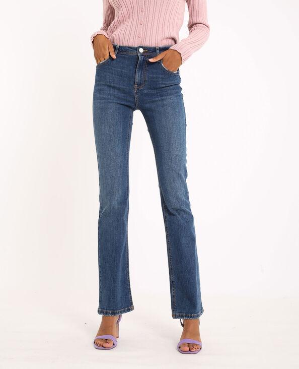 Jeans flare mid waist blu grezzo - Pimkie