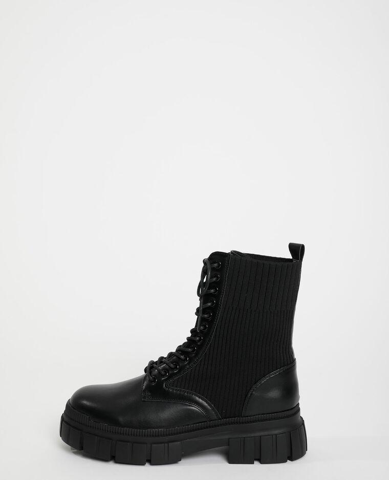 Stivali in maglia nero - Pimkie