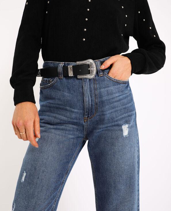 Cintura stile western nero - Pimkie