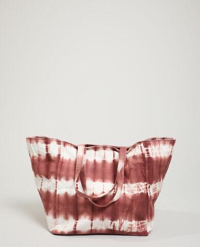 Borsa shopping tie and dye rosa - Pimkie
