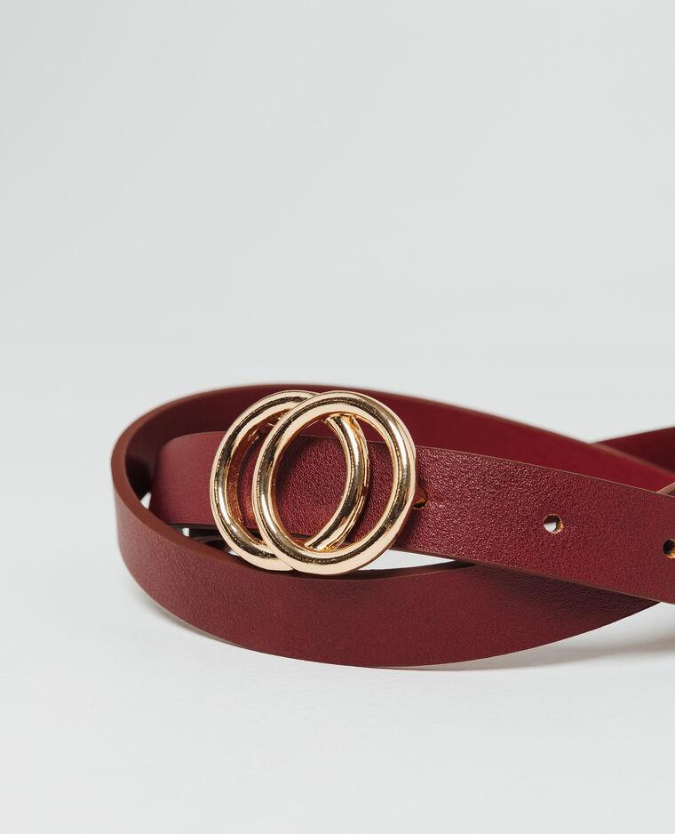 - Cintura sottile. bordeaux