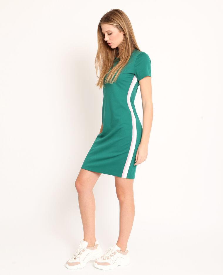 Abito t-shirt verde