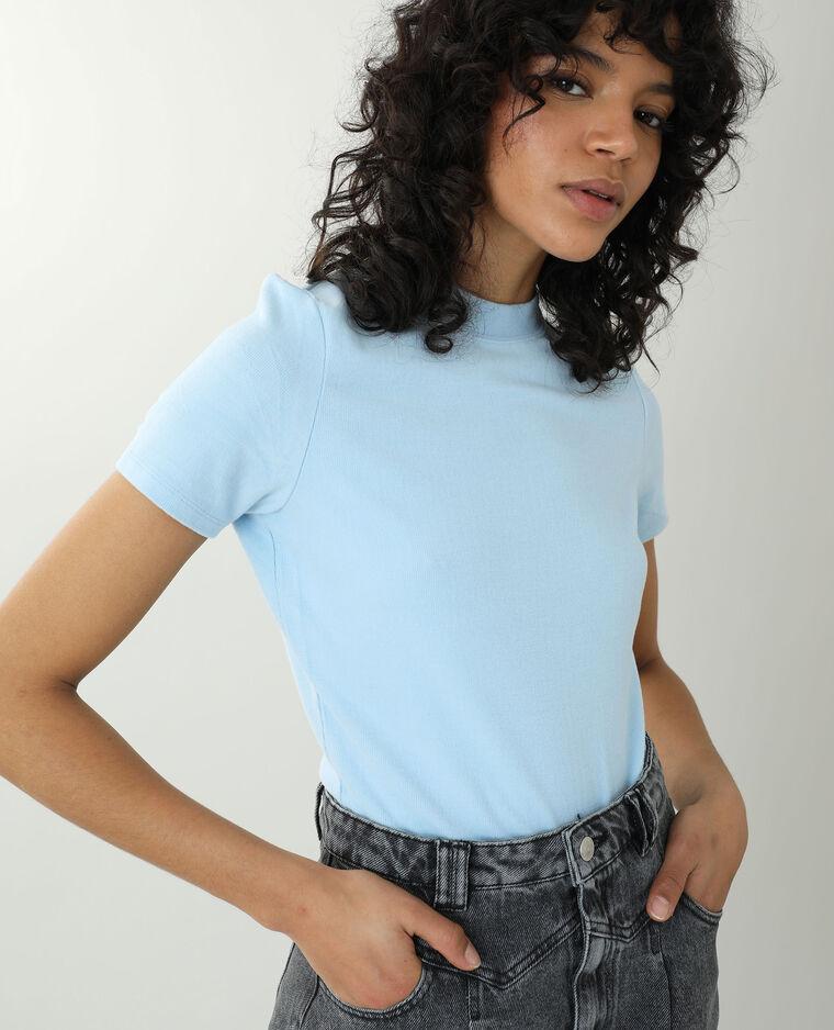 T-shirt morbidissima blu