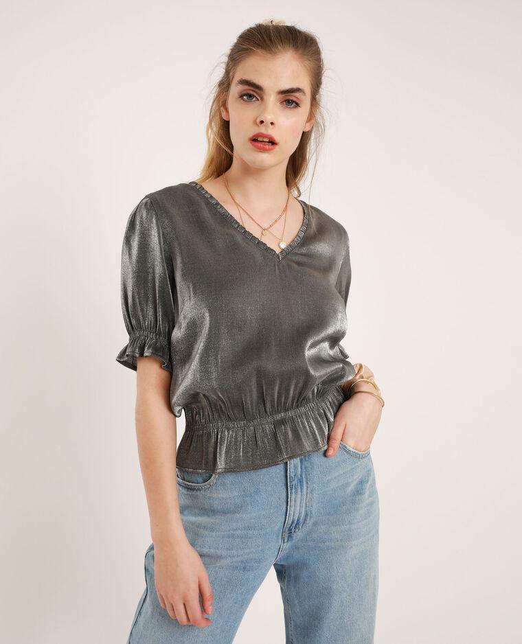 Camicia brillante grigio - Pimkie