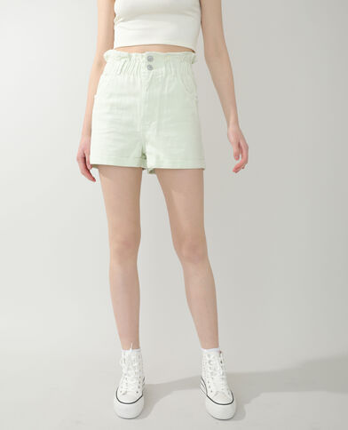 Short di jeans verde acqua - Pimkie