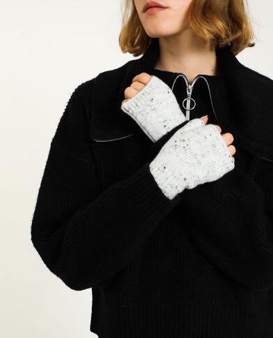 Mezzi guanti grigio
