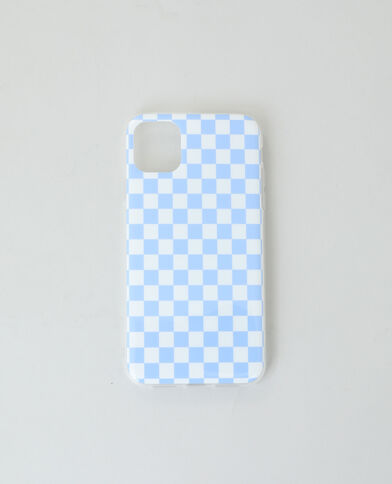 Custodia compatibile con iPhone blu