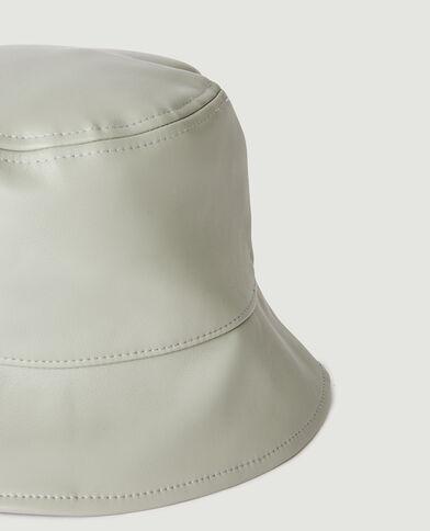 Cappello bob in similpelle verde - Pimkie