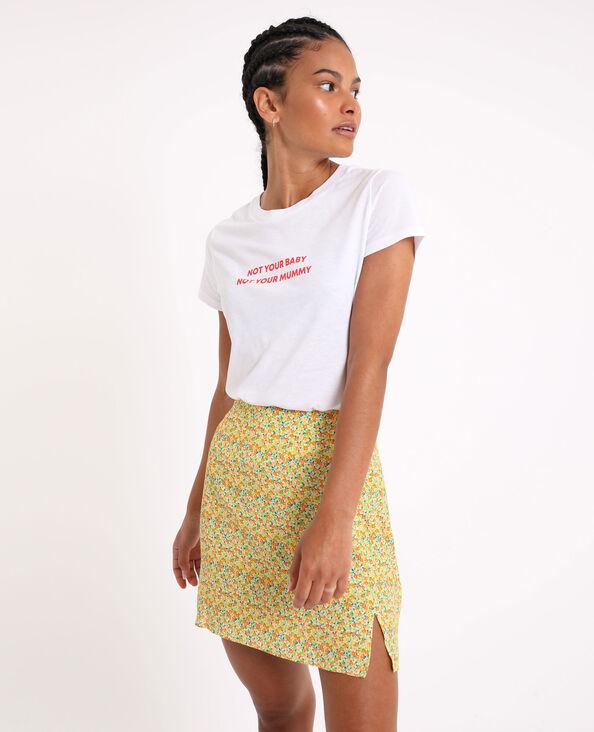 T-shirt basic écru