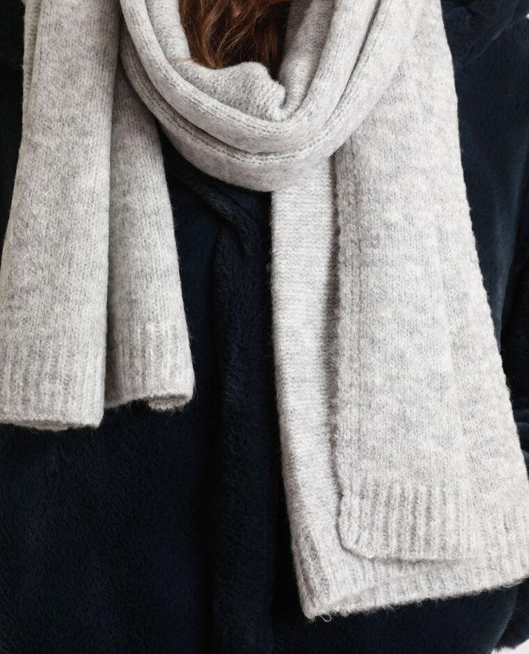 Sciarpa calda grigio chiné