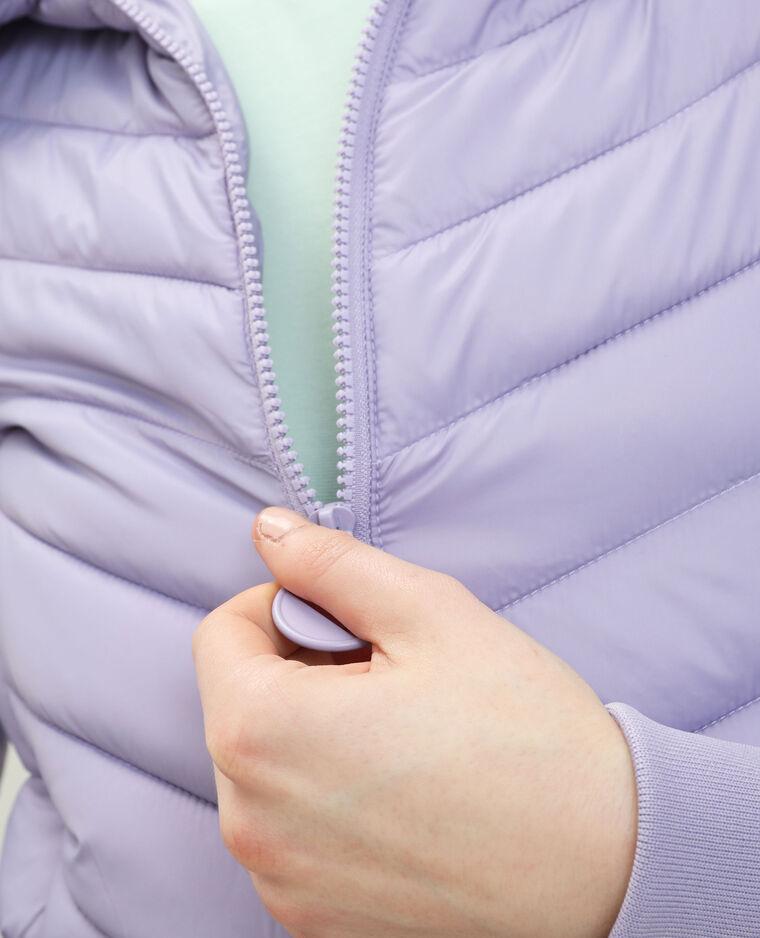 Piumino con cappuccio viola - Pimkie