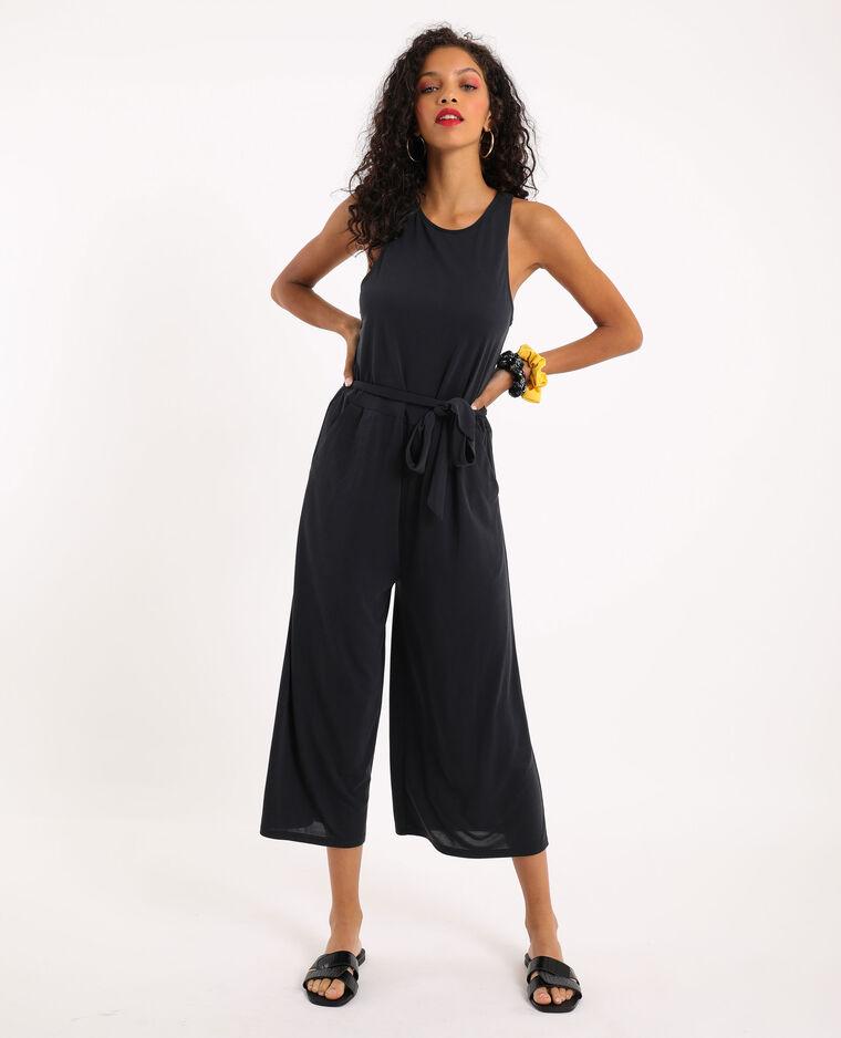 Abito pantalone morbido nero