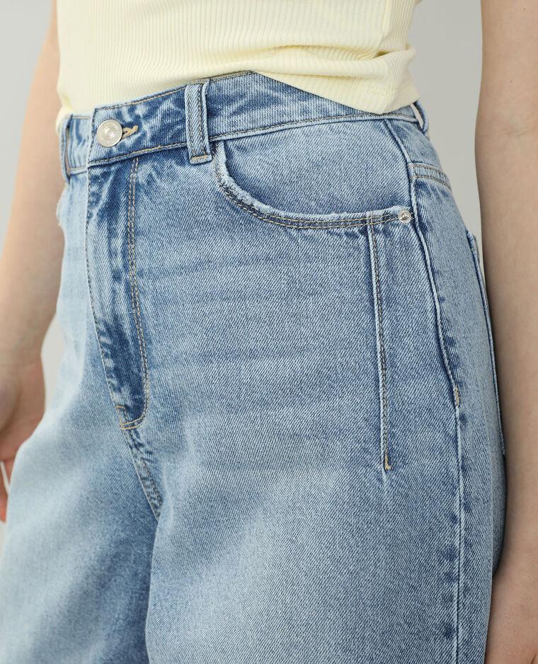 Jeans slouchy high waist blu chiaro