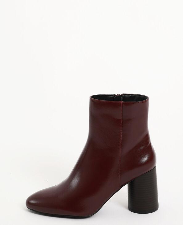 Boots con tacco granata