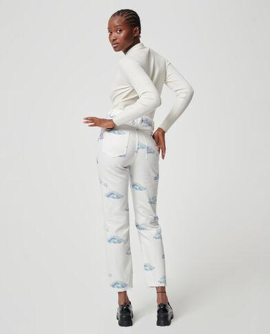 Jeans nuvole bianco - Pimkie