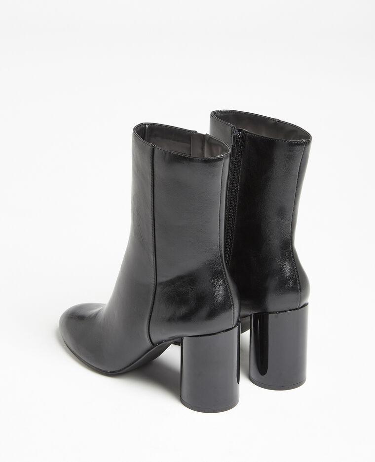 Stivali con tacco rotondo nero - Pimkie