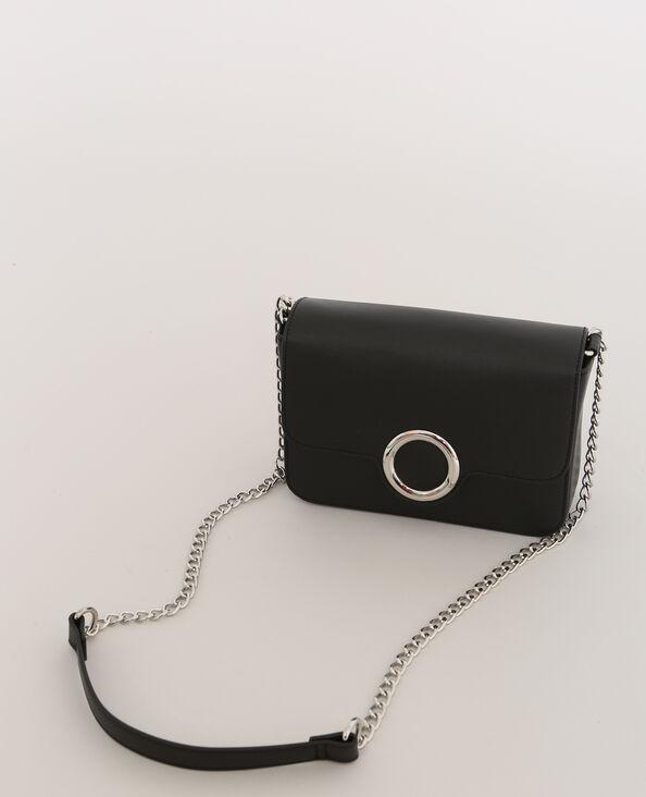 Piccola borsa boxy nero