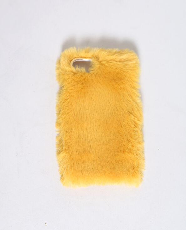 Custodia compatibile con iPhone 6 mostarda