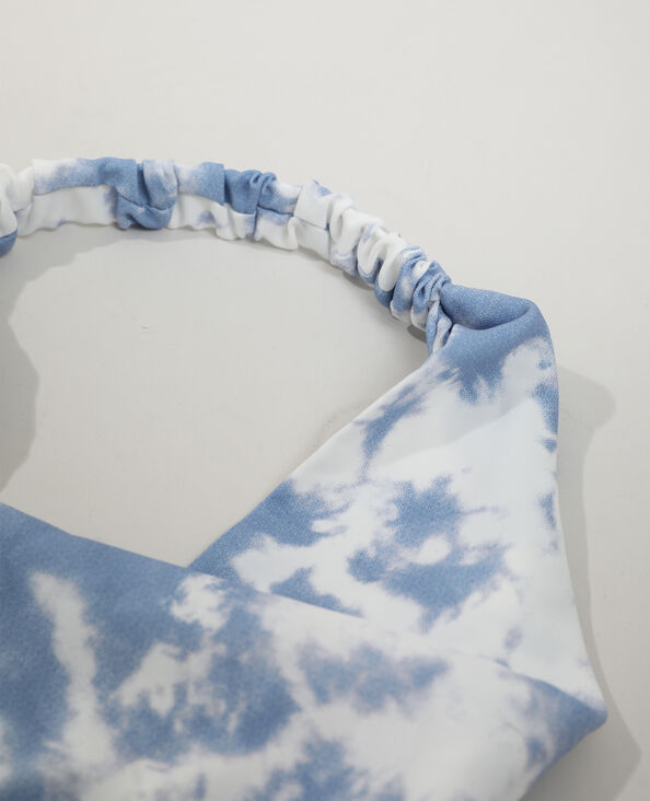 Foulard fantasia elastico bianco - Pimkie