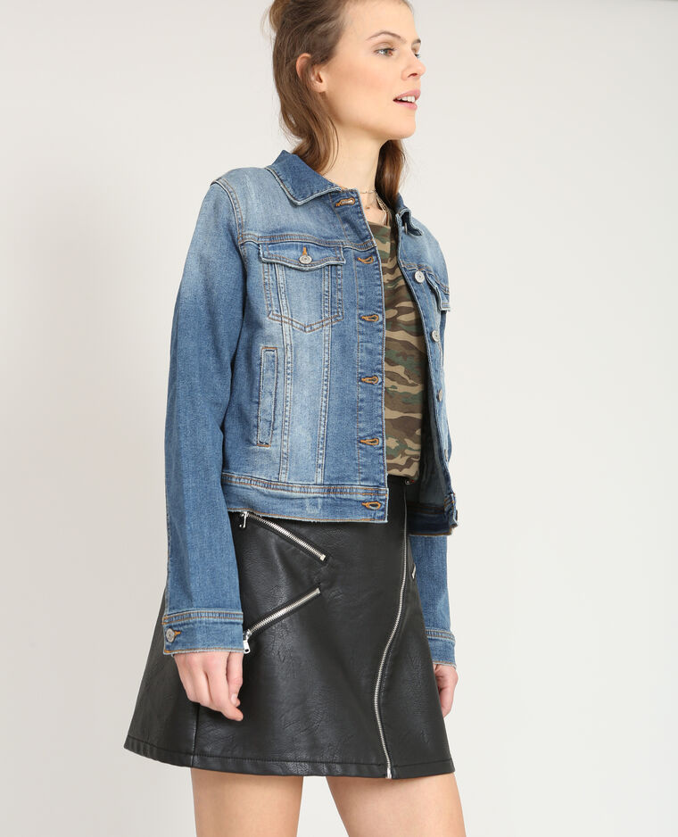 brand new 02185 7039c Giacca in jeans corta