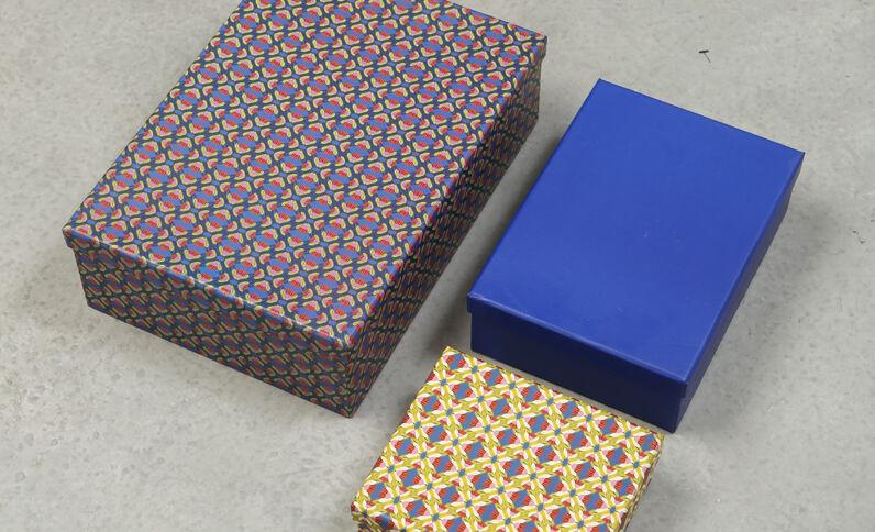 Lotto da 3 scatole beige