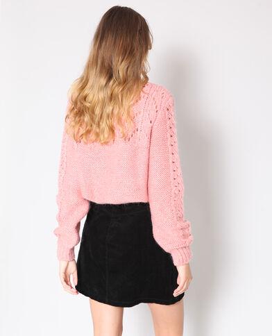 Pull caldo rosa