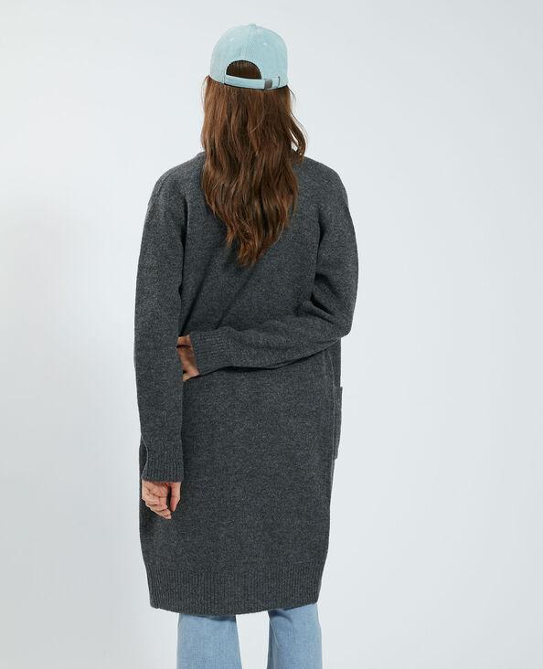 Cardigan lungo grigio - Pimkie