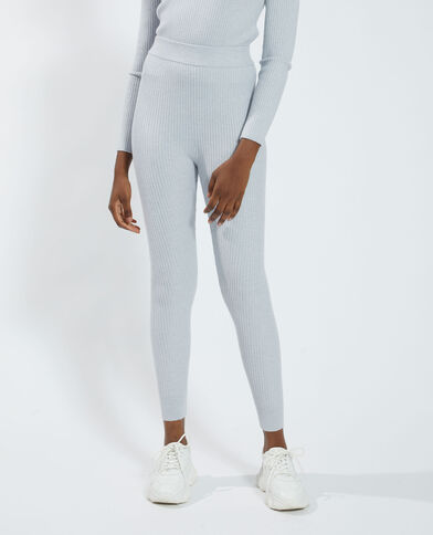 Pantalone a coste grigio - Pimkie